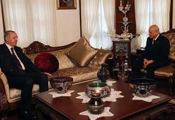 Son dakika Cumhurbaşkanı Erdoğan Bahçeliyi evinde ziyaret etti