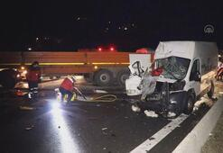 Anadolu Otoyolunda trafik kazası