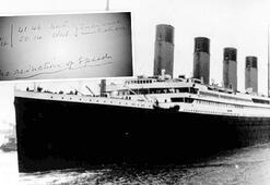 Titanik'le batan gerçekler