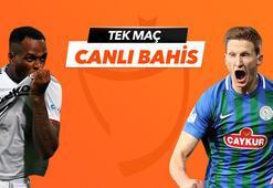 Beşiktaş - Çaykur Rizespor maçı Tek Maç ve Canlı Bahis seçenekleriyle Misli.com'da