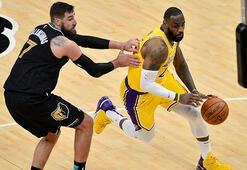 NBAde Los Angeles Lakers kazanmaya devam ediyor