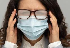 Maske takarken gözlüğün buğulanmasını önlemenin yolu