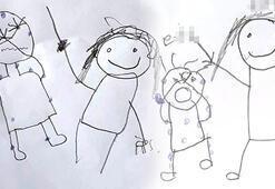 Kardeşlerin resimlerle anlattığı cinsel istismarda anne ve üvey babaya tahliye