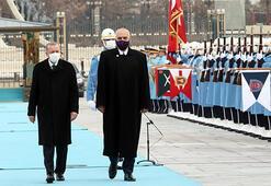 Son dakika... Arnavutluk Başbakanı Beştepede Cumhurbaşkanı Erdoğan karşıladı