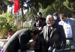 Kavga eden şehit babası ve imam barıştı