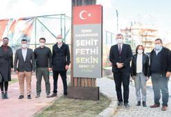Tire'de Fethi Sekin Gençlik Parkı açıldı