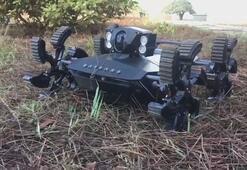 Yerli insansız kara aracı Baybars Anında imha ediyor