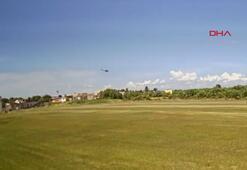 Brezilyada helikopter düştü