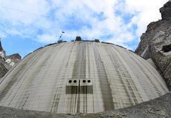 Yusufeli Barajının gövdesinin tamamlanmasına 7 metre kaldı