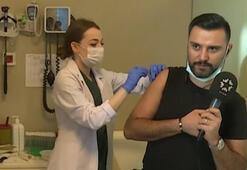 Alişan canlı yayında koronavirüs aşısı oldu