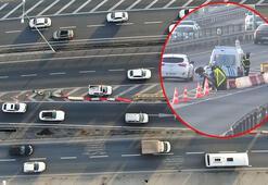 İstanbul trafiğinde akılalmaz görüntü Harekete geçildi
