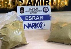 İstanbuldan Bodruma uyuşturucu sevkiyatı 5 kişi yakalandı
