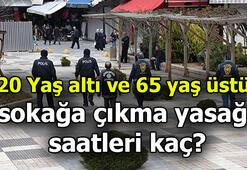 20 Yaş altı ve 65 yaş üstü kısıtlaması ne zaman bitecek 20 yaş altı ve 65 yaş üstü sokağa çıkma yasağı 15 Ocakta bitiyor mu