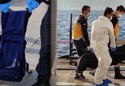 Yer: İstanbul Çantasına taş doldurup denize atladı