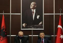 Fuat Oktay, Arnavutluk Başbakanı ile SSByi ziyaret etti