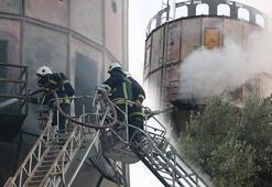 Orman ürünleri fabrikasında korkutan yangın