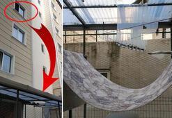 Üçüncü kattan düştü Hayatın kurtaran tesadüfler zinciri