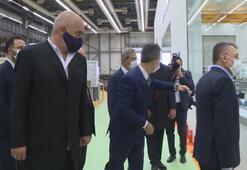 Cumhurbaşkanı Yardımcısı Fuat Oktay, Arnavutluk Başbakanı Edi Rama ile ASELSANa ziyarette bulundu.