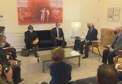 Bakan Çavuşoğlu, Portekiz Başbakanı António Costa tarafından kabul edildi