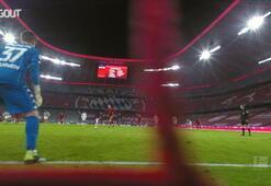 Robert Lewandowskinin 2021 yılında attığı ilk gol