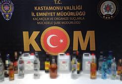 Sahte içkileri satmaya çalışan 2 kişi yakalandı