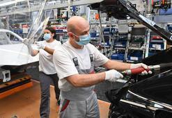 Almanyada sanayi üretimi artıyor