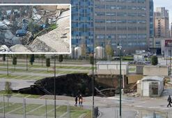 İtalyada pandemi hastanesi otoparkında patlama