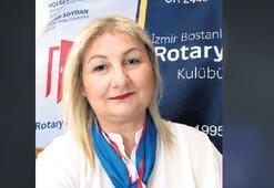 Bostanlı Rotary'de çeyrek asır kutlaması
