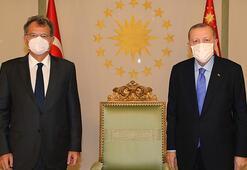 Cumhurbaşkanı Erdoğan, TÜSİAD Yönetim Kurulu Başkanını kabul etti