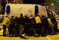 Taksi ile ambulans çarpıştı: Yaralılar var