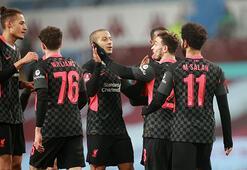 Liverpool, Aston Villayı rahat geçti