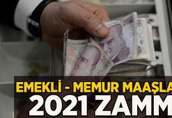 Emekli zammı ve memur zammı ne kadar 2021 memur ve emekli maaşı hesaplama