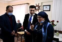 Bakan Soylu, Aybüke öğretmenin ailesi ile görüştü