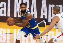 NBAde Golden State Warriors, 22 sayı geriden gelerek kazandı