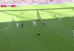 Mesut Özilin Lyona attığı gol
