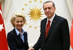 Son dakika... Cumhurbaşkanı Erdoğandan AB ile kritik görüşme