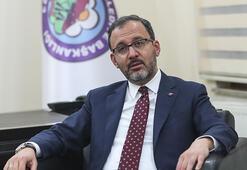 Gençlik ve Spor Bakanı Kasapoğlundan Iğdıra yarı olimpik havuz müjdesi