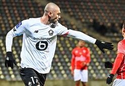 Burak Yılmaz golünü attı, Lille kazandı