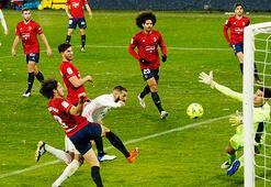 Real Madridde şok puan kaybı