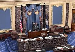 Son dakika... Washingtonda kongre basılırken Gakkoşların ödü koptu