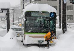 Kar Japonyayı esir aldı