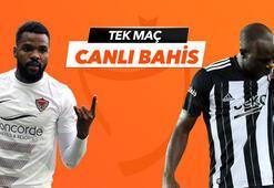 Hatayspor - Beşiktaş maçı Tek Maç ve Canlı Bahis seçenekleriyle Misli.com'da