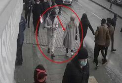 Kameradan belirlenen yankesicilik şüphelisi yakalandı
