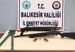 Balıkesirde polis 8 aranan şahsı yakaladı