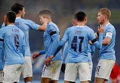 Manchester City, Birminghama gol yağdırdı