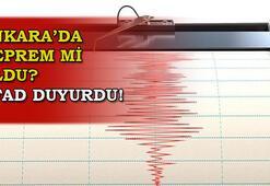Deprem mi oldu Ankarada deprem mi oldu, kaç büyüklüğünde deprem oldu AFAD - Kandilli  11 Ocak son depremler...