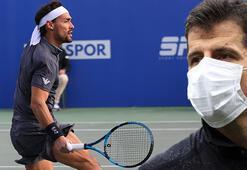 Ünlü tenisçi Fabio Fognini: 'Emre Belözoğlunu unutamadım'