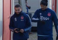 Sebastian Haller, Ajaxla ilk idmanına çıktı...