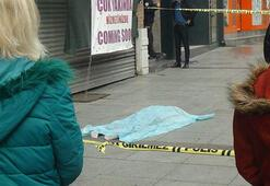 İstanbul'un göbeğinde feci ölüm Sinir krizi geçirdiler