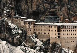Sümela Manastırına ziyaretçi yasağı Mart ayına kadar sürecek